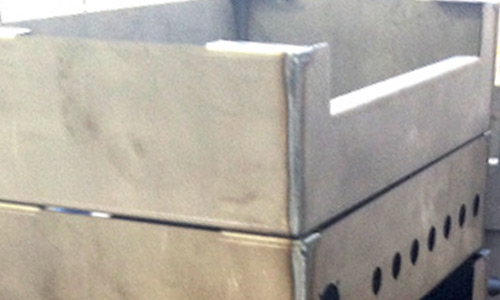 Montagem e soldadura em metal